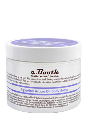 Product Review: c.Booth Egyptian Argan Oil Body Butter