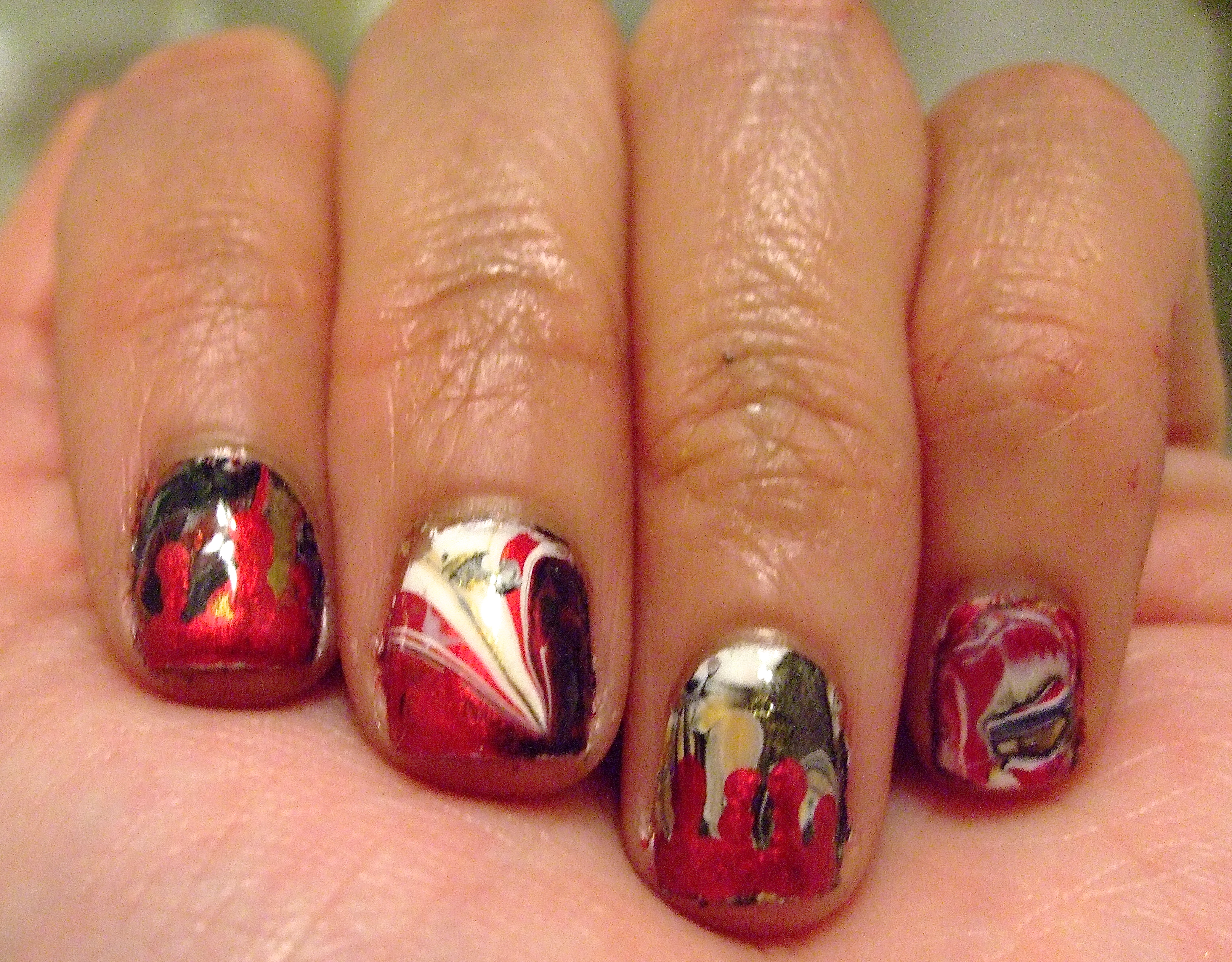 Nail Art Rocky Horror Picture Show Theme The Rite Of Agingearly