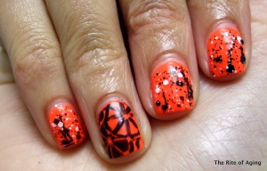 Orange Nails prompt