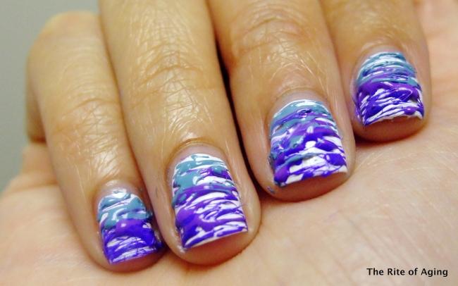 31DC2013 - Blue Nails