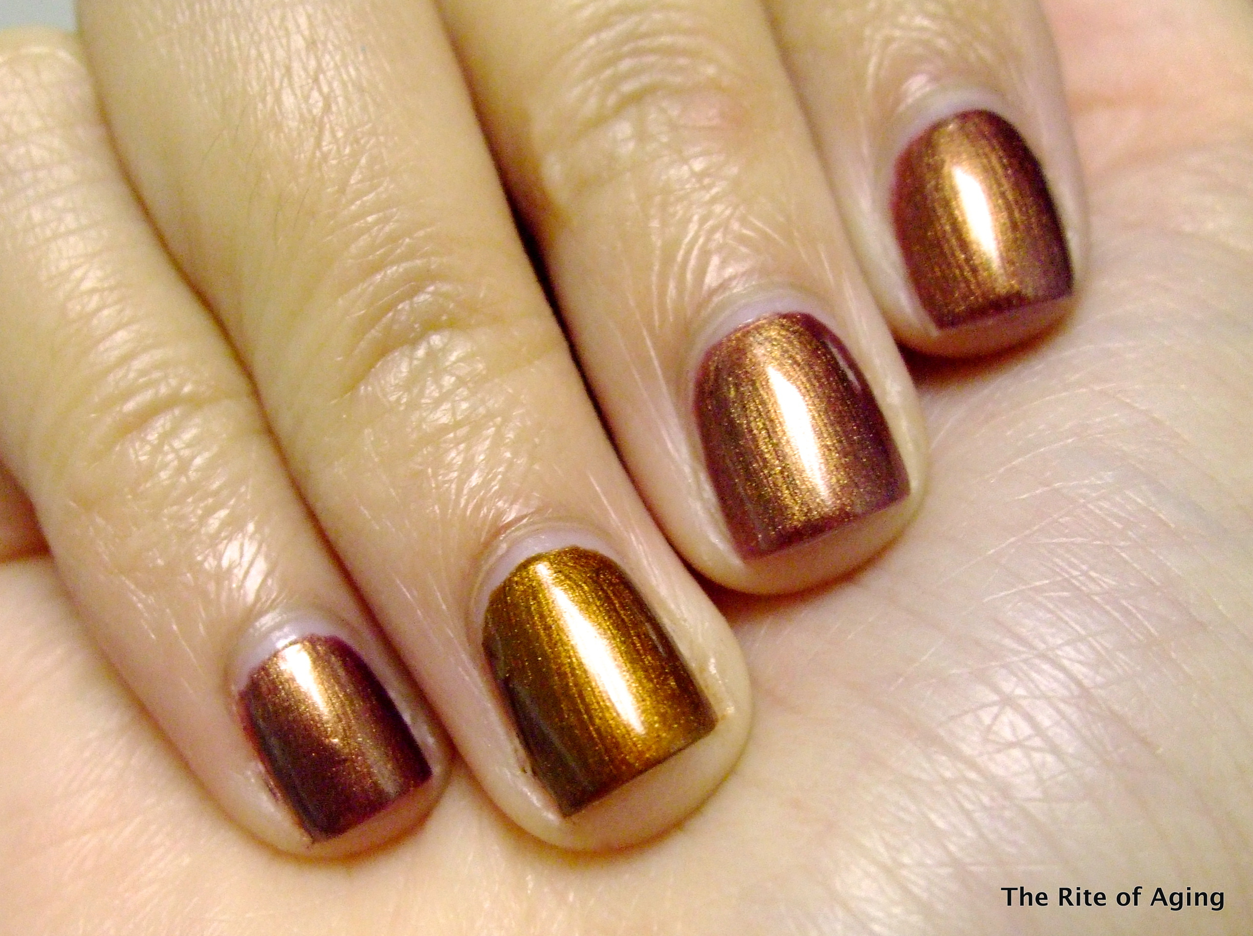 """Urban Decay Naked Polish """"Smog"""" vs. SpaRitual """"Running with Wolves ..."""