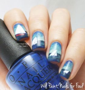 Sailboats by Will Paint Nails for Food | The Rite of Aging Monthly Favorites