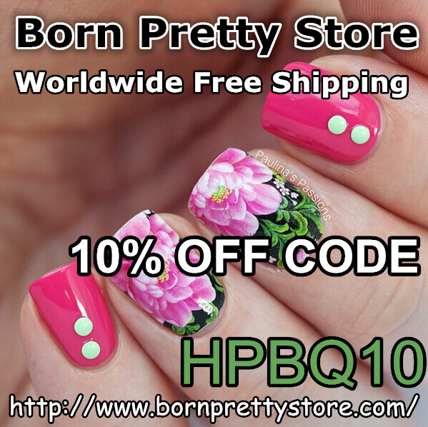 Born Pretty Store 10% off code - Monica with RA @monicawithRA