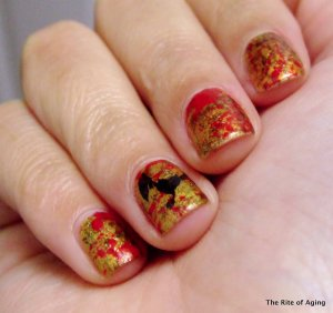 Halloween Nail Art Challenge - Villians | The Rite of Aging