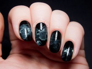 chalkboard nails - oct. faves