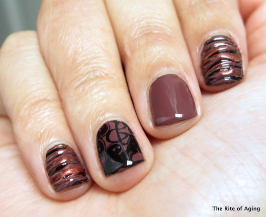 Marsala-Inspired Sugar-Spun Manicure | The Rite of Aging