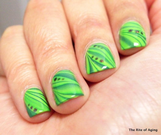 Green Watermarble | The Rite of Aging