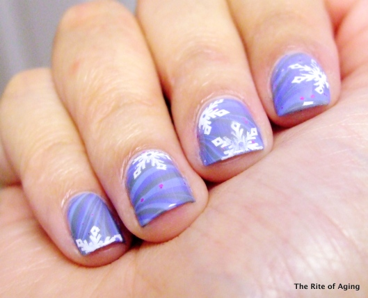 Icy Blue Watermarble | The Rite of Aging
