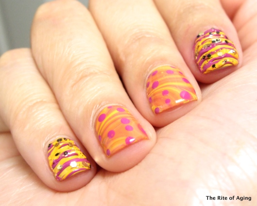 Favorite Techniques Watermarble and Sugar-Spun | The Rite of Aging