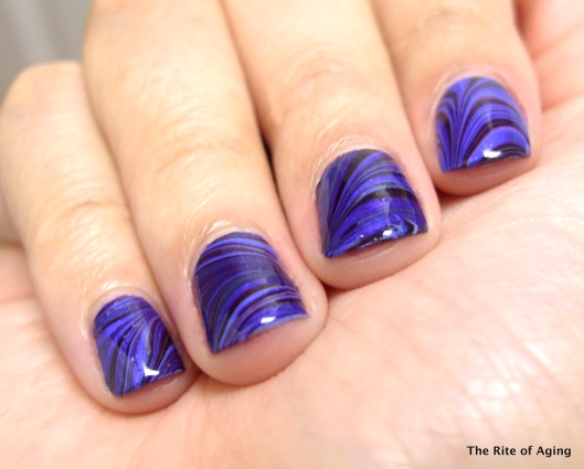 Moody Blues Watermarble | The Rite of Aging