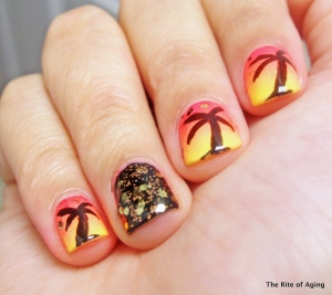 Palm Tree Gradient | The Rite of Aging
