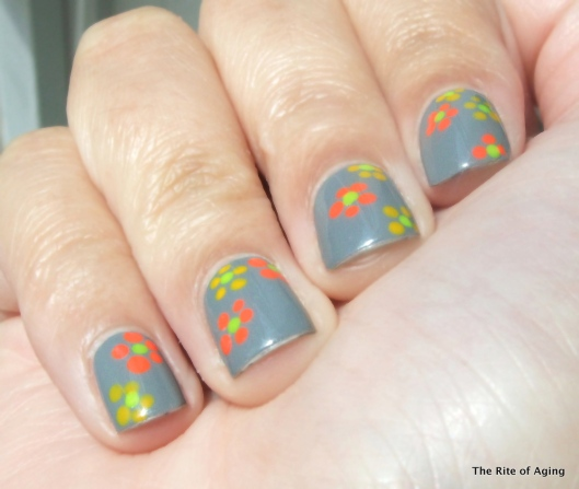 Neon Dotticure Flowers | The Rite of Aging
