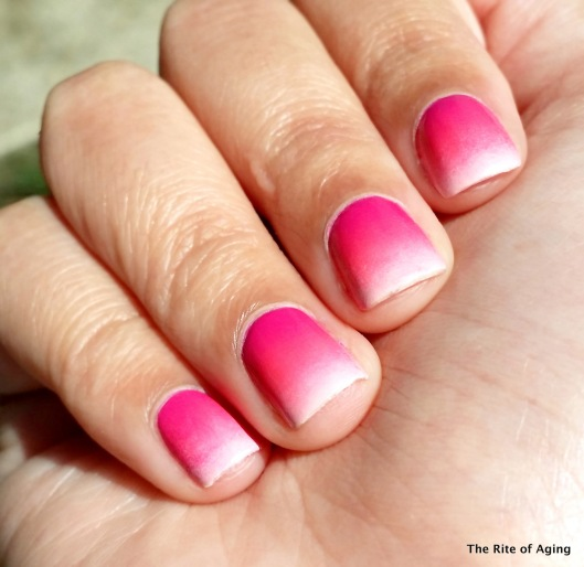 Pink Gradient | The Rite of Aging