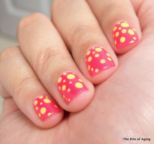 Neon Bright Dotticure | The Rite of Aging