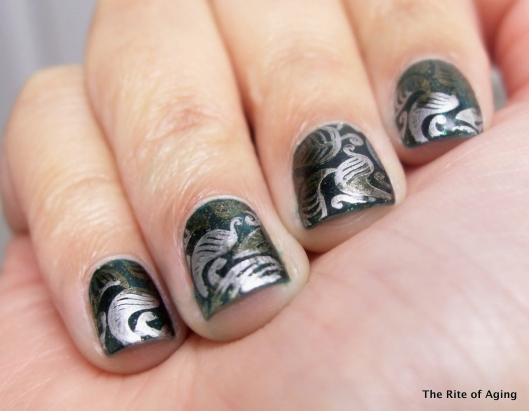 Metallic Marble Stamping | The Rite of Aging