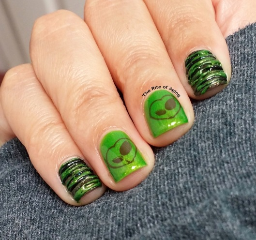 #OMD3NAILS - For the Love of Earth Sugarspun Nail Art | The Rite of Aging