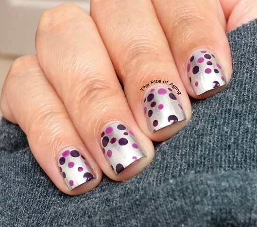 #OMD3NAILS - Amethyst Dotticure Nail Art | The Rite of Aging
