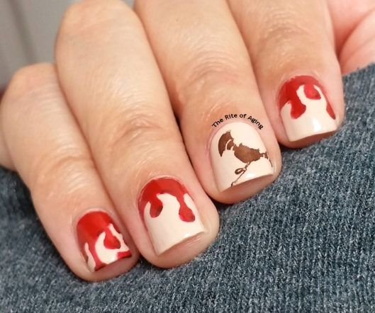 #WIKINAILS - Blood Drip Nail Art | The Rite of Aging