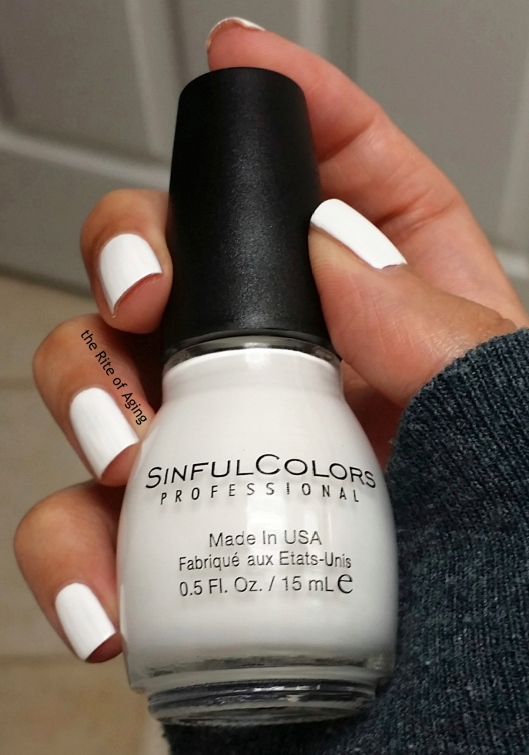 SinfulColors Swatch - Whiteboard | The Rite of Aging