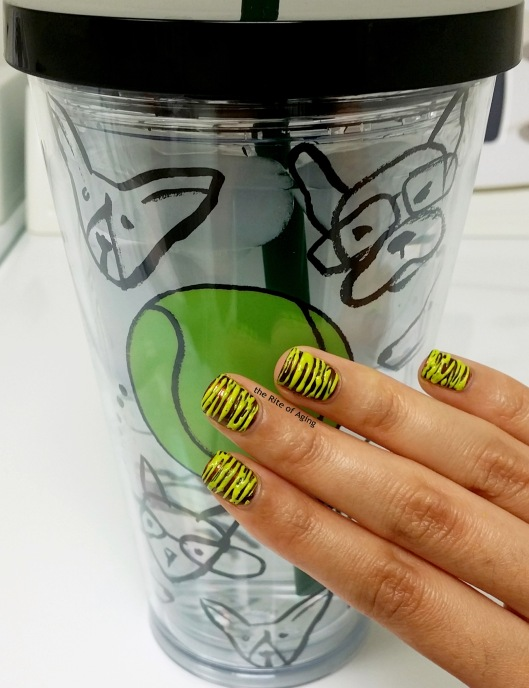 #OMD3NAILS - Starbucks Tumbler Sugar-Spin Nail Art | The Rite of Aging