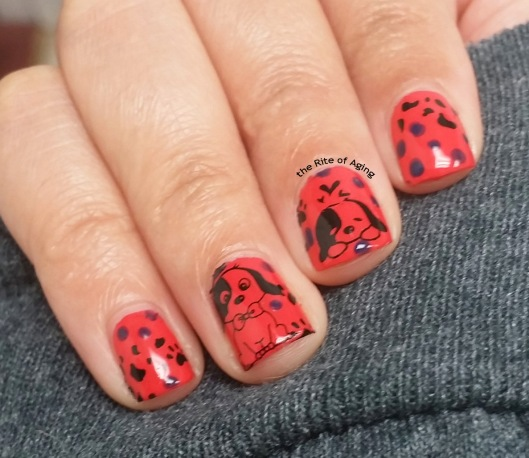 #OMD3NAILS - Dots and Decals Nail Art | The Rite of Aging
