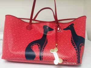Jonathan Adler Dogs Bag | The Rite of Aging