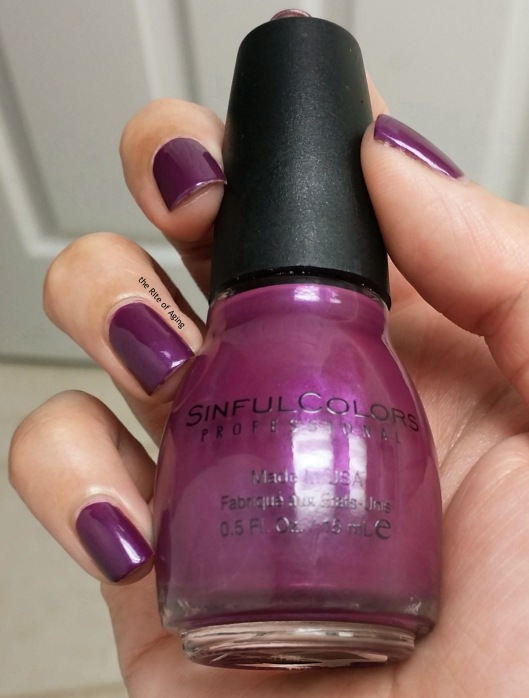 SinfulColors Swatch - Fig | The Rite of Aging
