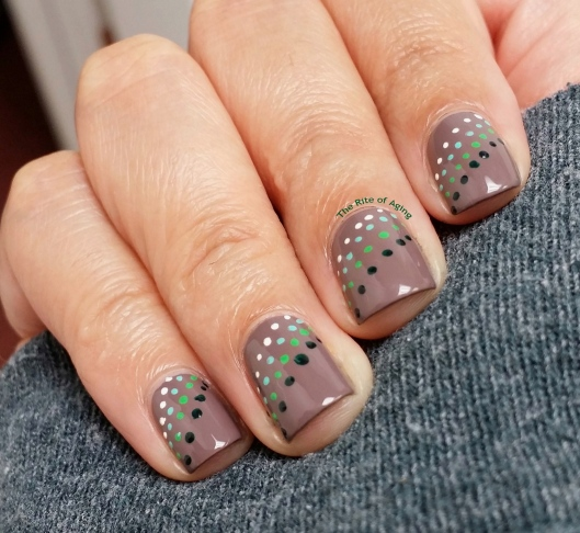 #OMD3NAILS - Dotty Pattern Nail Art | The Rite of Aging