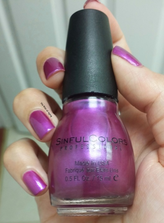 SinfulColors Swatch - Rebel Rose | The Rite of Aging
