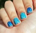 #31DC2015 - Blue Waterfall #nailart   The Rite of Aging