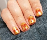 #31DC2015 - The One Ring Inscription Nail Art   The Rite of Aging