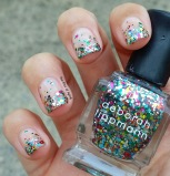 #31DC2015 - Glitter Gradient Nail Art   The Rite of Aging
