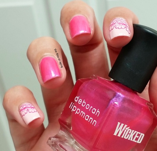 #31DC2015 - On Wednesdays We Wear Pink Nail Art | The Rite of Aging