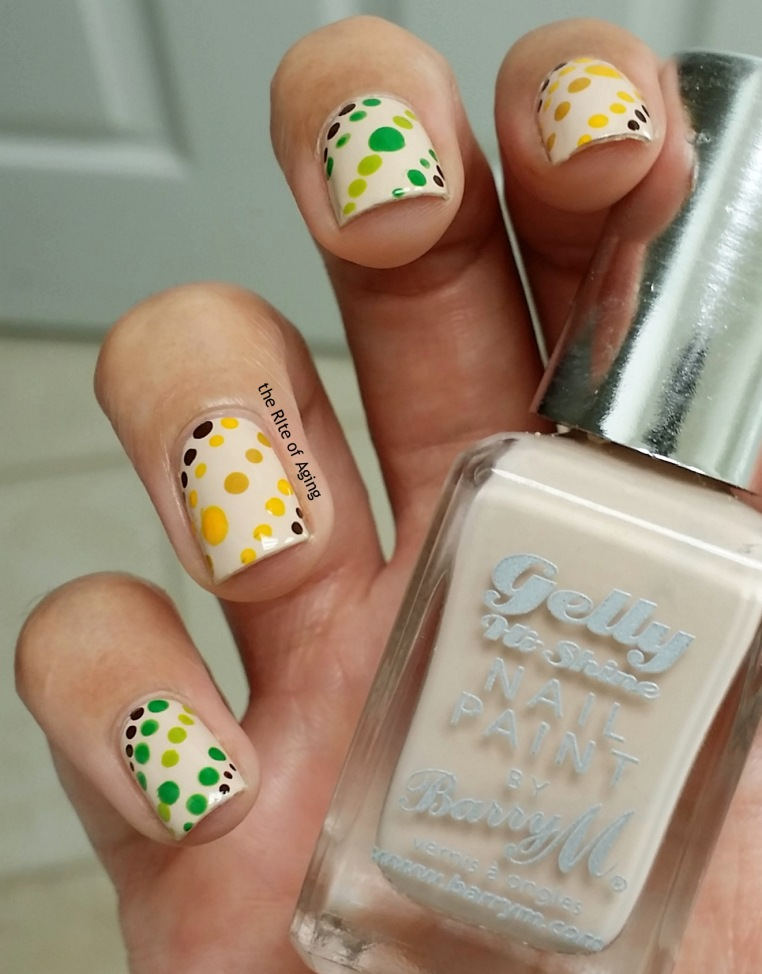 #31DC2015 - Dotillism Dotticure Nail Art | The Rite of Aging