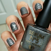 #31DC2015 - Phoenix Stamp and Sugar-Spin Nail Art | The Rite of Aging