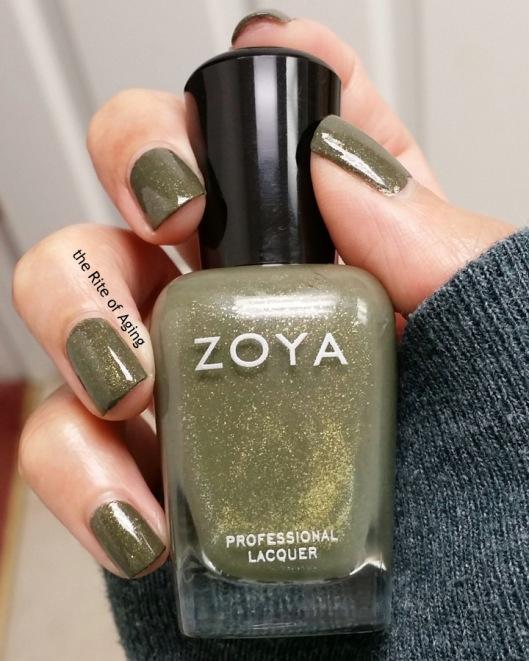 "Zoya - ""Yara"" Swatch | The Rite of Aging"