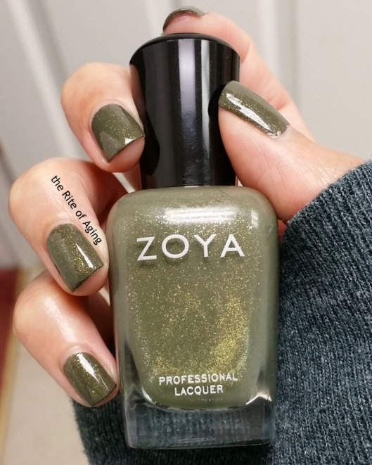"Zoya - ""Yara"" Swatch 
