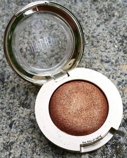 Milani Cosmetics - Bella Copper Gel Powder Eyeshadow | The Rite of Aging