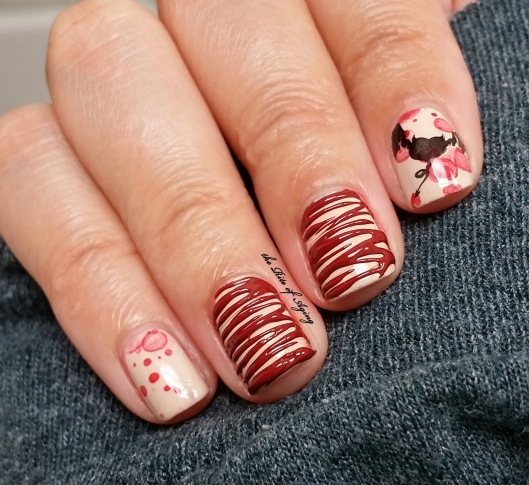 Bat's Blood Sugar-Spin Nail Art | The Rite of Aging