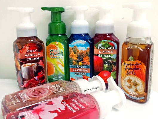Fall 2015 - Bath and Body Works Hand Soaps | The Rite of Aging