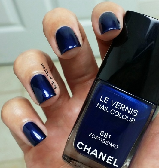Chanel Les Vernis Swatch - Fortissimo | The Rite of Aging