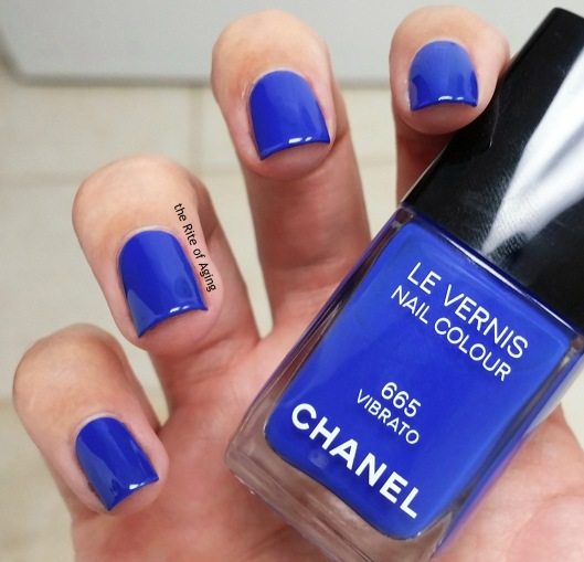 Chanel Les Vernis Swatch - Vibrato | The Rite of Aging