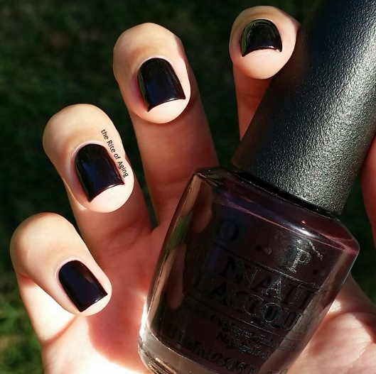 OPI Swatch - Lincoln Park After Dark | The Rite of Aging