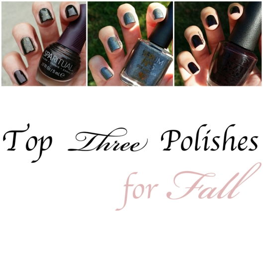 Top Three Polishes for Fall | The Rite of Aging