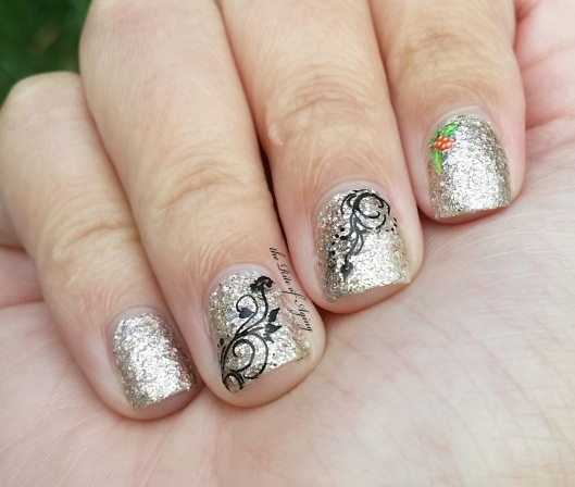 Easy New Year's Sparkles Nail Art | The Rite of Aging