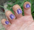 #31DC2016 - Purple Dotticure Nail Art