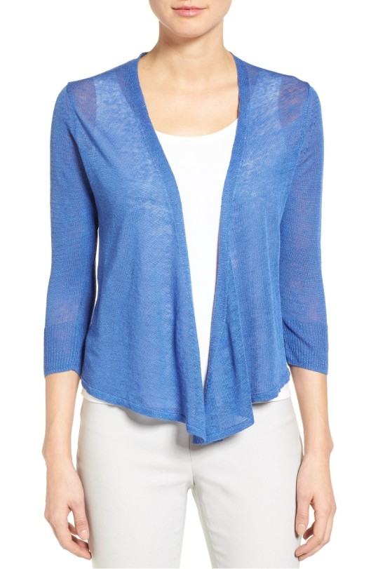 the Rite of Aging...Early's Best of the Nordstrom Half Yearly Sale: NIC + ZOE '4 Way' Convertible Three Quarter Sleeve Cardigan