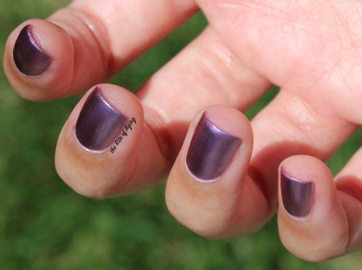 Born Pretty Store Metal Series Nail Polish in Heroine Review