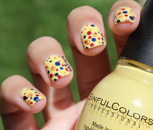 Wonder Woman Movie Inspired Nail Art -- Costume Colors