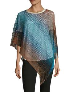 Missoni Asymmetrical Poncho (photo from Gilt)